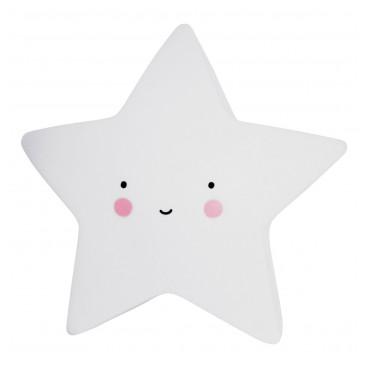 A Little Lovely Φωτάκι Νυχτός Mini Star Light White LTSW053