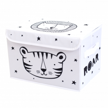 A Little Lovely Κουτί Αποθήκευσης Pop-up Storage Box Roar STPURO03