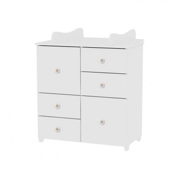 Lorelli Συρταριέρα Αλλαξιέρα Cupboard White 10170110024A