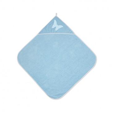 Lorelli Βρεφική Πετσέτα Μπάνιου 80/80cm Blue 20810200004