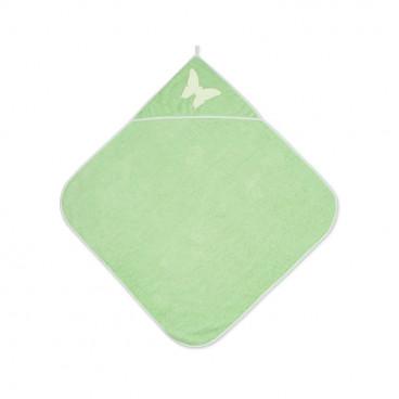 Lorelli Βρεφική Πετσέτα Μπάνιου 80/80cm Green 20810200003