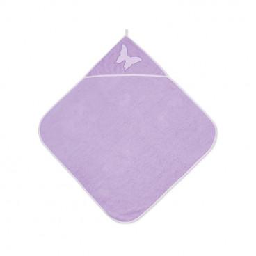 Lorelli Βρεφική Πετσέτα Μπάνιου 80/80cm Violet 20810200006