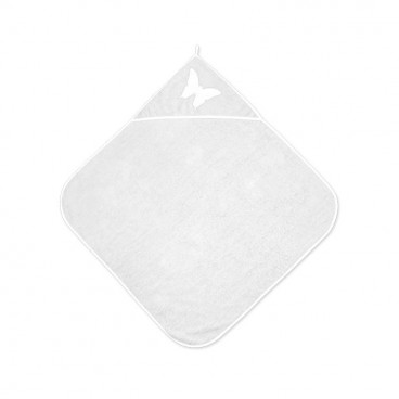 Lorelli Βρεφική Πετσέτα Μπάνιου 80/80cm White 20810200001