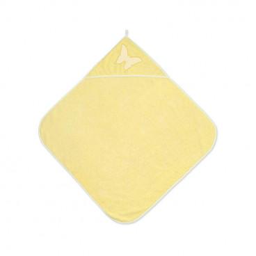 Lorelli Βρεφική Πετσέτα Μπάνιου 80/80cm Yellow 20810200002