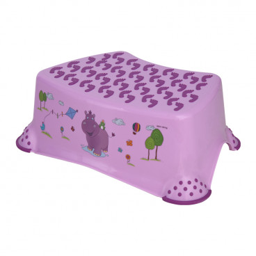 Lorelli Βοηθητικό Σκαλοπατάκι Hippo Violet 1013038