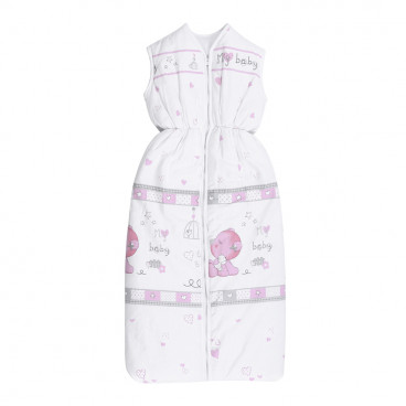 Lorelli Βρεφικός Καλοκαιρινός Υπνόσακος XL My Baby Pink 20810133001