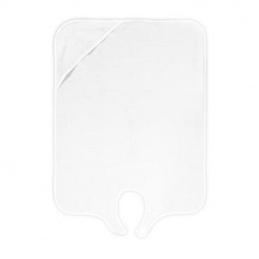 Lorelli Βρεφική Πετσέτα Μπάνιου 80/100cm White 20810320001