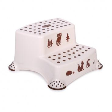 Lorelli Διπλό Βοηθητικό Σκαλοπατάκι Forest Cappuccino 1013055
