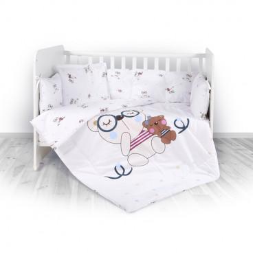 Lorelli Σετ Προίκας Μωρού Για Κούνια 3 Τμχ. Bear Beige 20800013801