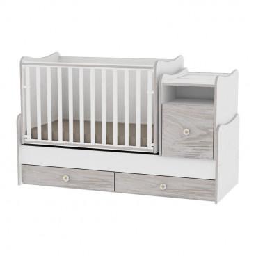 Lorelli Κρεβάτι Trend Plus Μετατρεπόμενο White Artwood 10150400030A