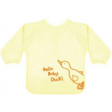 Lorelli Σαλιάρα Ολόσωμη Με Μανίκια Yellow Duck 1026006