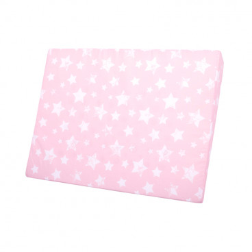 Lorellli Μαξιλάρι Air Comfort 60/45/9 cm Stars Pink 20040250005