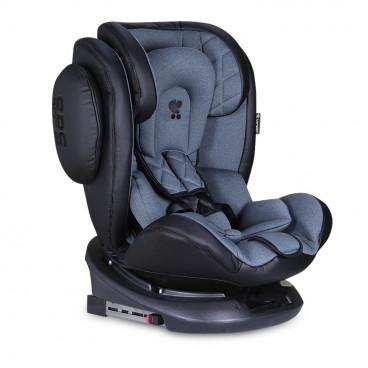 Lorelli Κάθισμα Αυτοκινήτου Aviator SPS 360° Isofix, 0-36kg Black Dark Grey 10071301902