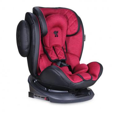 Lorelli Κάθισμα Αυτοκινήτου Aviator SPS 360° Isofix, 0-36kg Black Red 10071301903