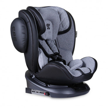 Lorelli Κάθισμα Αυτοκινήτου Aviator SPS 360° Isofix, 0-36kg Black Light Grey 10071301901