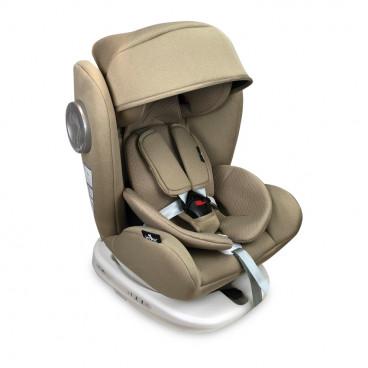 Lorelli Κάθισμα Αυτοκινήτου Lusso SPS 360° Isofix, 0-36kg Beige 10071111905