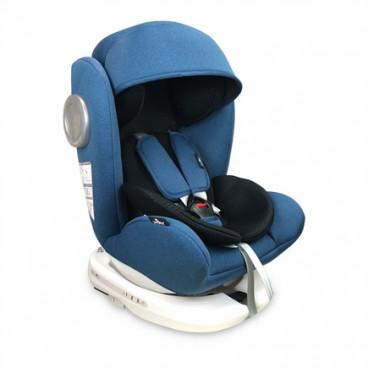 Lorelli Κάθισμα Αυτοκινήτου Lusso SPS 360° Isofix, 0-36kg Blue Black 10071111904