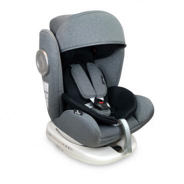 Lorelli Κάθισμα Αυτοκινήτου Lusso SPS 360° Isofix, 0-36kg Grey 10071111907