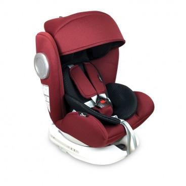 Lorelli Κάθισμα Αυτοκινήτου Lusso SPS 360° Isofix, 0-36kg Red Black 10071111908