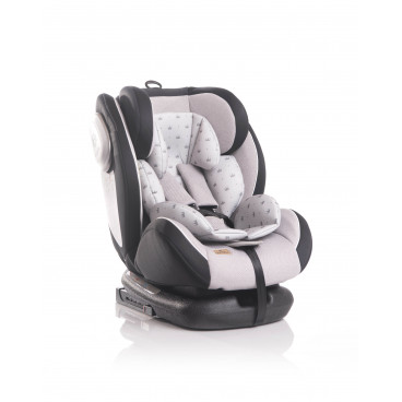 Lorelli Κάθισμα Αυτοκινήτου Corsica Isofix, 0-36kg Grey Crowns 10071262094