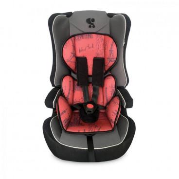 Lorelli Κάθισμα Αυτοκινήτου Explorer, 9-36kg Black And Red Cities 10070891980C