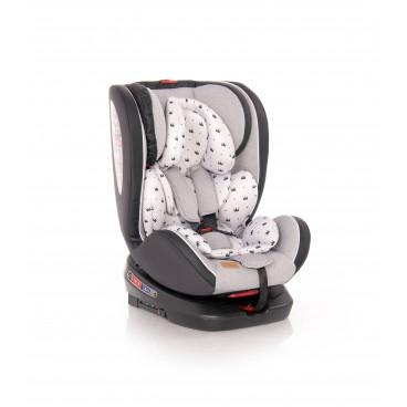 Lorelli Κάθισμα Αυτοκινήτου Nebula Isofix Rotation, 0-36kg Grey Crowns 10071382094