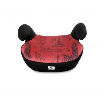 Lorelli Κάθισμα Αυτοκινήτου Teddy, 15-36kg Black Red Cities 10070751980
