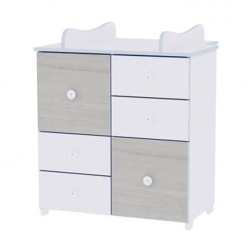 Lorelli Συρταριέρα Αλλαξιέρα Cupboard Blue Elm 10170110033A
