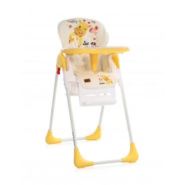 Lorelli Καρεκλάκι Φαγητού Tutti Frutti Yellow Giraffe 10100262035