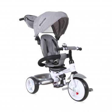 Lorelli Τρίκυκλο Ποδηλατάκι Moovo Eva Wheels Grey Luxe 10050470005