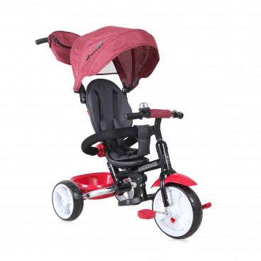 Lorelli Τρίκυκλο Ποδηλατάκι Moovo Eva Wheels Red Black Luxe 10050470018