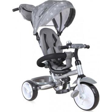 Lorelli Τρίκυκλο Ποδηλατάκι Moovo Eva Wheels Grey Black Stars 10050472001