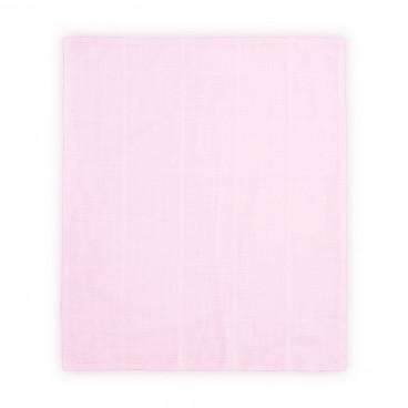 Lorelli Πάνα Αγκαλιάς Μωρού Μουσελίνα 90x90cm Pink 20051090002
