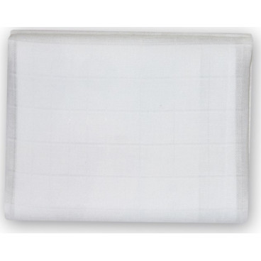 Lorelli Πάνα Αγκαλιάς Μωρού Μουσελίνα 90x90cm White 20051090001