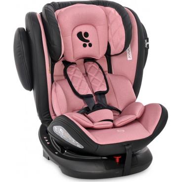 Lorelli Κάθισμα Αυτοκινήτου Aviator SPS 360° Isofix, 0-36kg Rose 10071302120