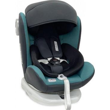 Lorelli Κάθισμα Αυτοκινήτου Lusso SPS 360° Isofix, 0-36kg Brittany Blue 10071112130