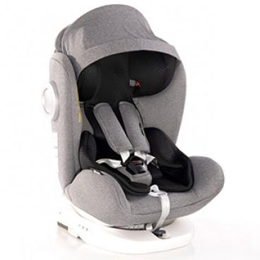 Lorelli Κάθισμα Αυτοκινήτου Lusso SPS 360° Isofix, 0-36kg Grey 10071112110