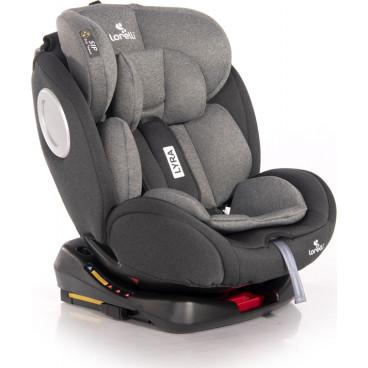 Lorelli Κάθισμα Αυτοκινήτου Lyra 360° Isofix, 0-36kg Black And Grey 10071452002