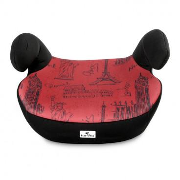 Lorelli Κάθισμα Αυτοκινήτου Teddy, 15-36kg Black Red Cities 10070751980C