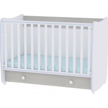 Lorelli Κρεβάτι Dream 60 x 120 Μετατρεπόμενο Blue Elm 10150420033A