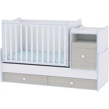 Lorelli Κρεβάτι Trend Plus Μετατρεπόμενο Blue Elm 10150400033A