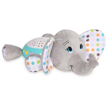 Lorelli Διακοσμητικός Προβολέας Φωτάκι Νυκτός Elephant 10280140006