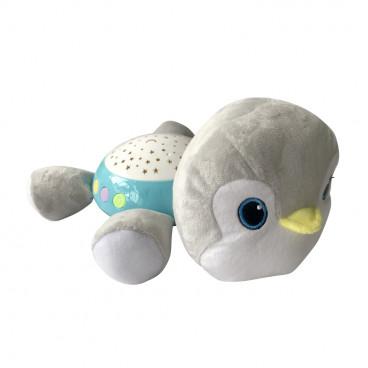 Lorelli Διακοσμητικός Προβολέας Φωτάκι Νυκτός Penguin 10280140005