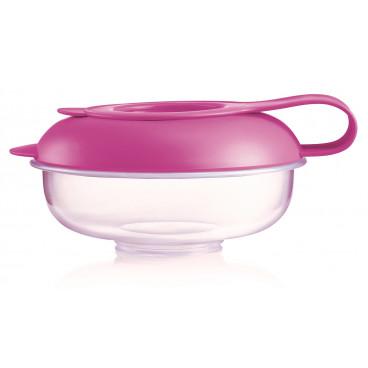 Mam Μπωλ Για Snack Box 6m+ Pink 529