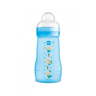 Mam Μπιμπερό Πλαστικό Easy Active Baby Bottle 2m+ 270ml Blue 360S
