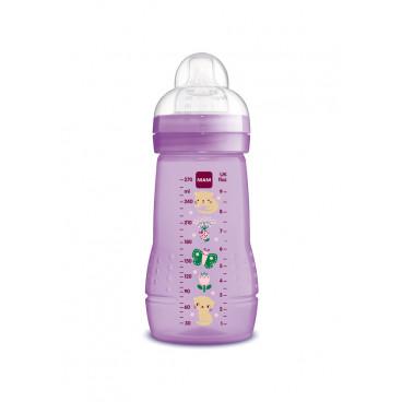 Mam Μπιμπερό Πλαστικό Easy Active Baby Bottle 2m+ 270ml Pink 360S