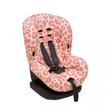 Meyco Βαμβακερό Κάλυμμα Καθίσματος Αυτοκινήτου Χωρίς Προσκέφαλο Panther Pink 524153