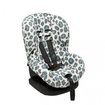 Meyco Βαμβακερό Κάλυμμα Καθίσματος Αυτοκινήτου Χωρίς Προσκέφαλο Panther Stone Green 524156