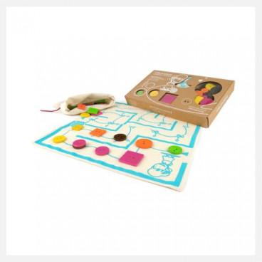 Milaniwood Ξύλινο Επιτραπέζιο Παιχνίδι Ο Μίτος Της Αριάδνης ΜΙL-FDΑ0-001