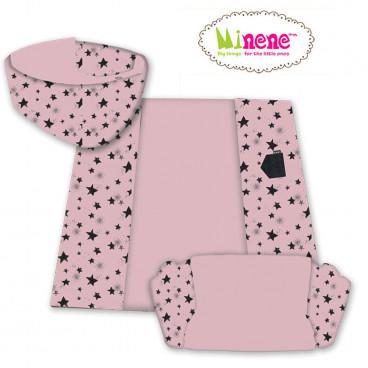 Minene 3 σε 1 Χαλί δραστηριοτήτων Pink Stars 18312001450
